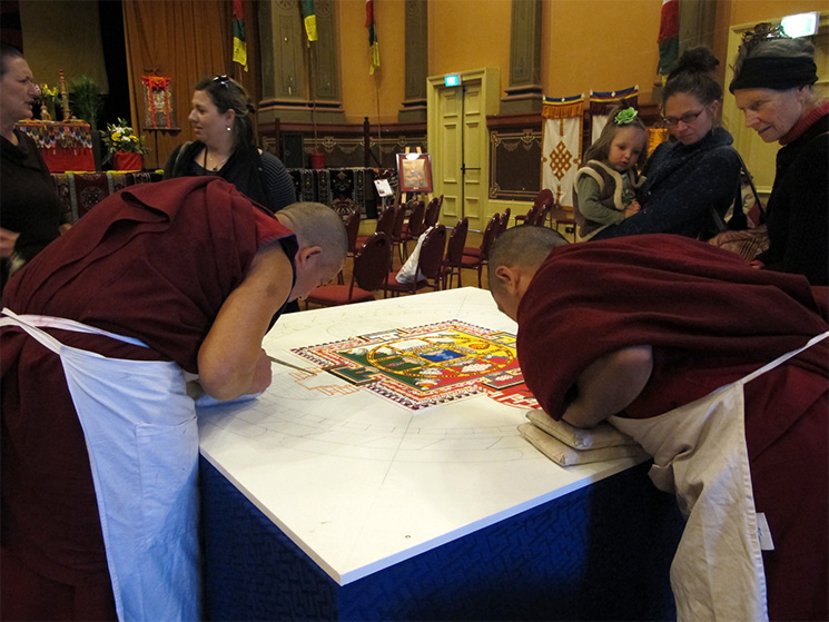 Sand Mandala at Fremantle June 2012