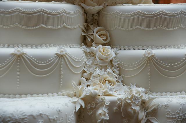 The Royal Wedding Cake And Flower Symbols