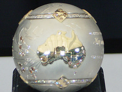 diamond encrusted tennis ball