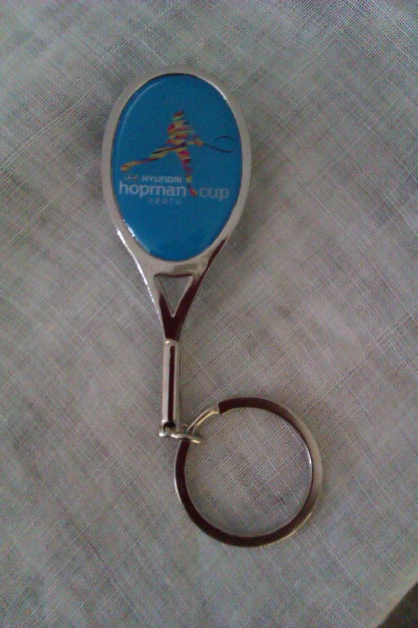 Hopman Cup keyring