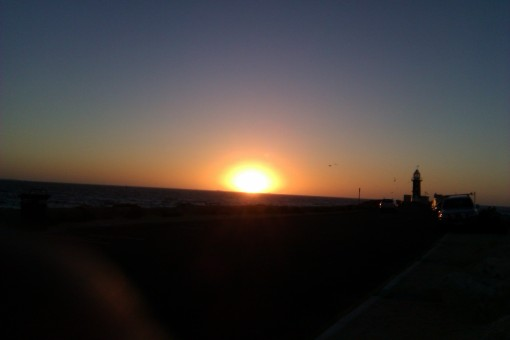 Sunset at Fremantle Jan 2013