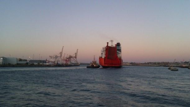 Taiko Tonisberg ship