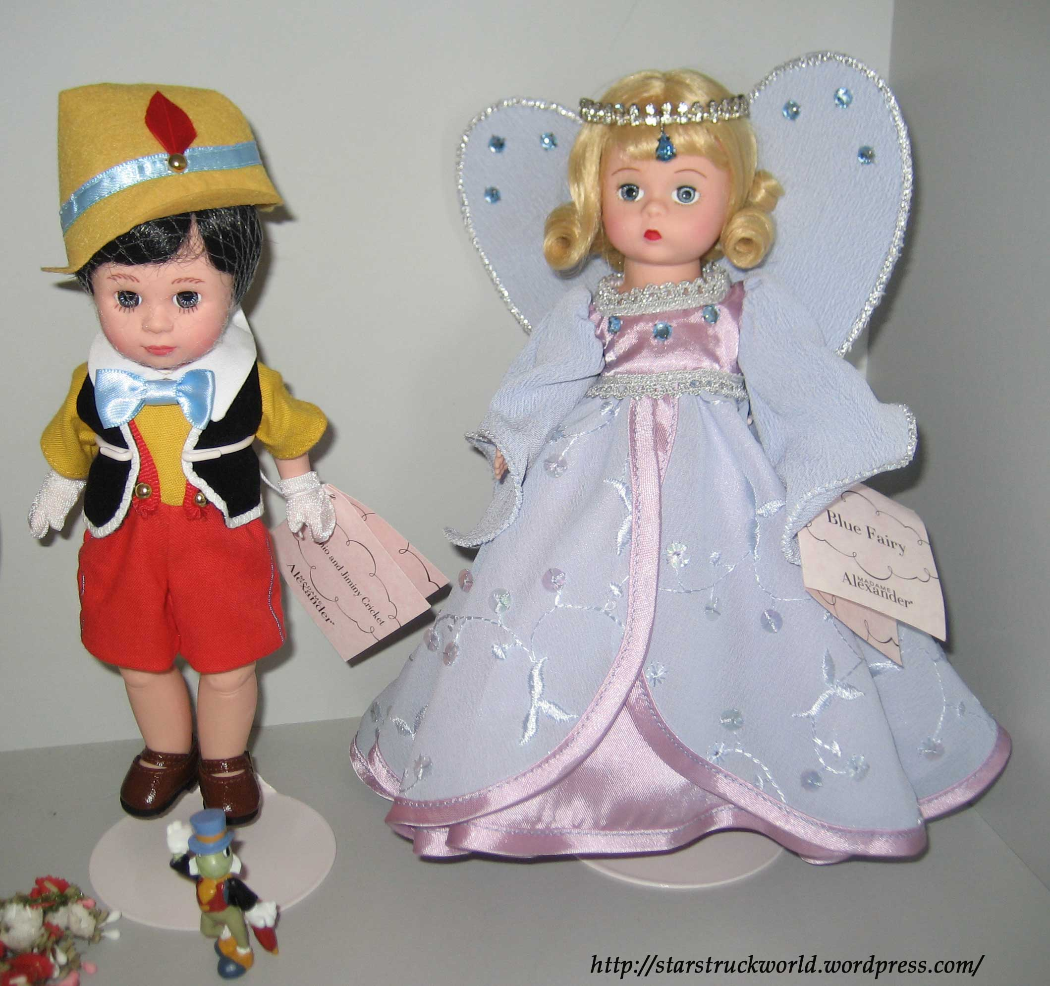 madame alexander pinnochio and blue fairy 2
