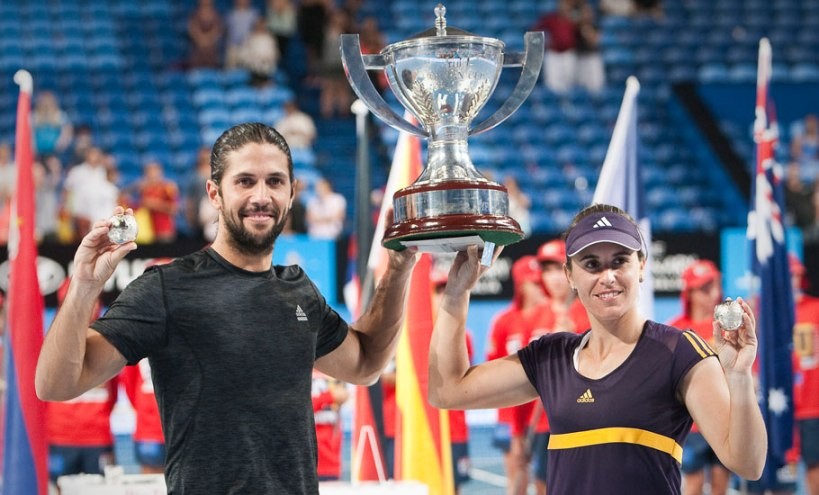 spain wins hopman cup 2013