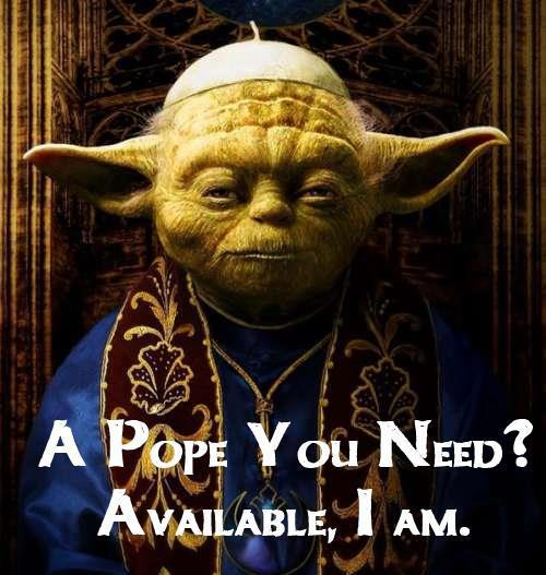 yoda for pope