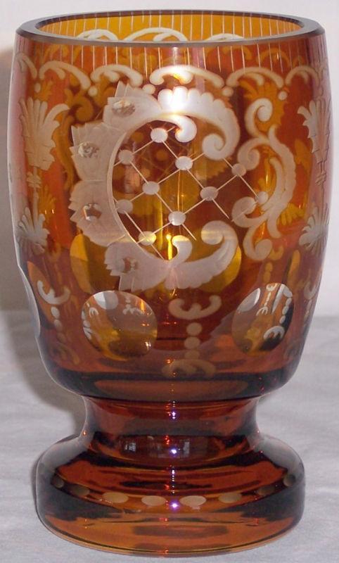 bohemian amber glass4