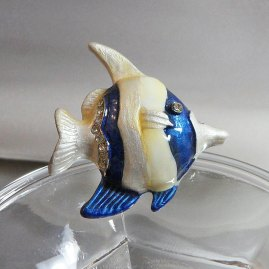 Opalescent Angel Fish
