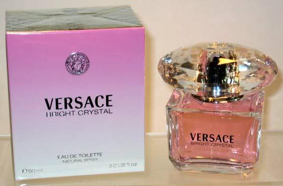 Versace perfume with box