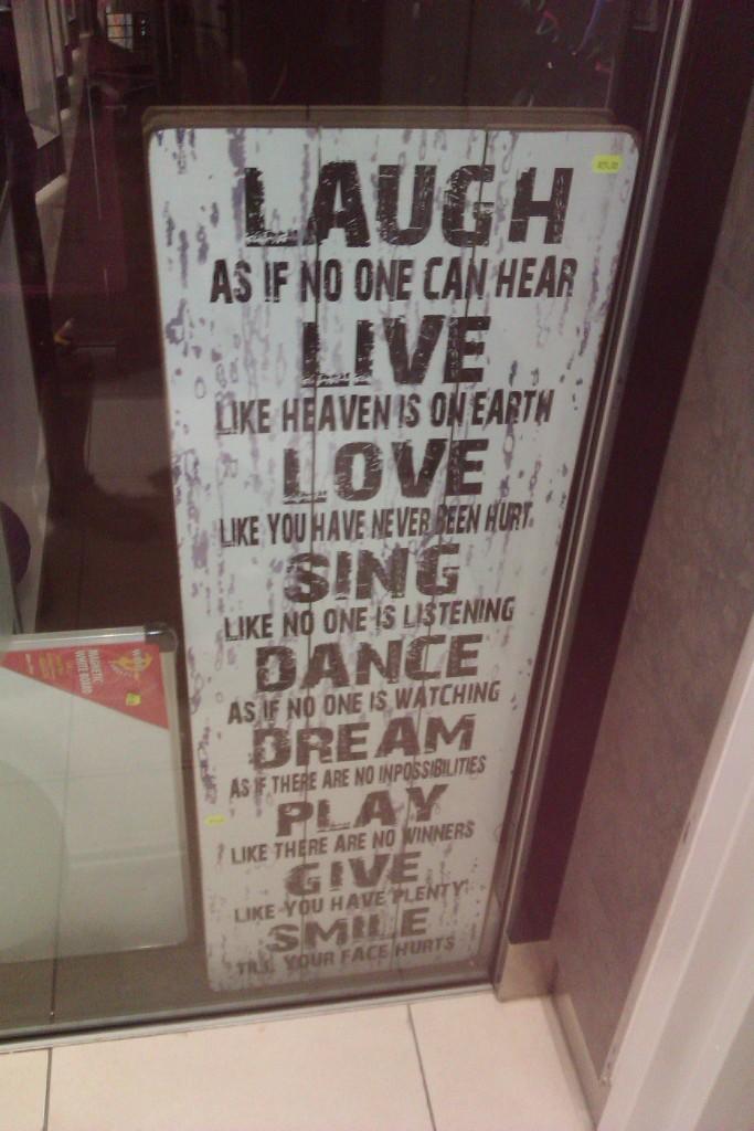 Laugh Live Sing