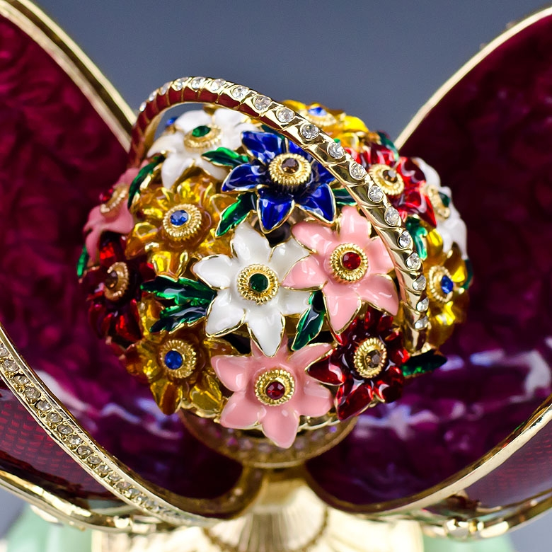 AA Spring Flowers Faberge Egg