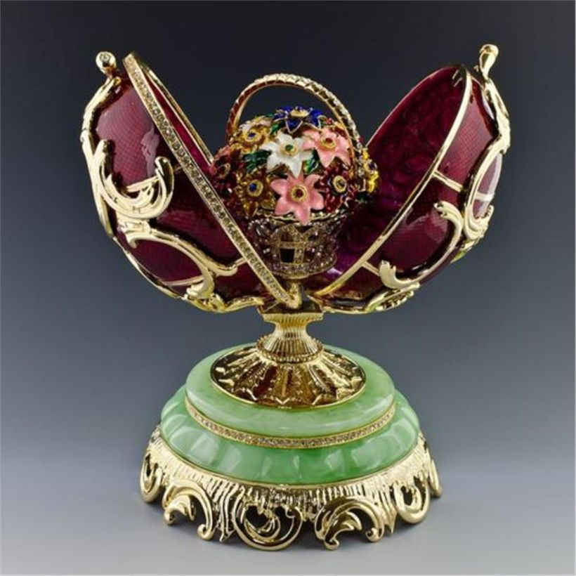 Spring Flowers Faberge Egg1