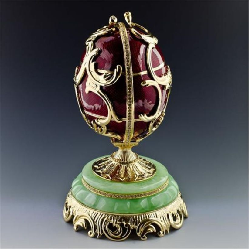 Spring Flowers Faberge Egg2