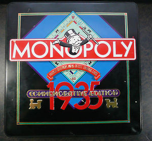 1985 commemorative Monopoly set