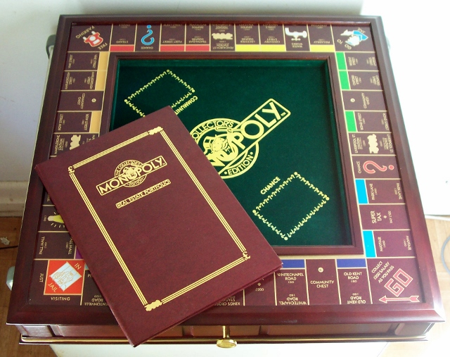 1991 Franklin Mint Monopoly set1