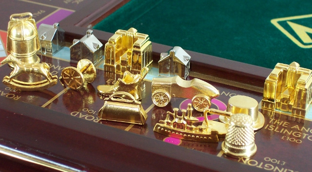 1991 Franklin Mint Monopoly set2