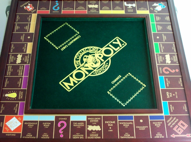 1991 Franklin Mint Monopoly set3
