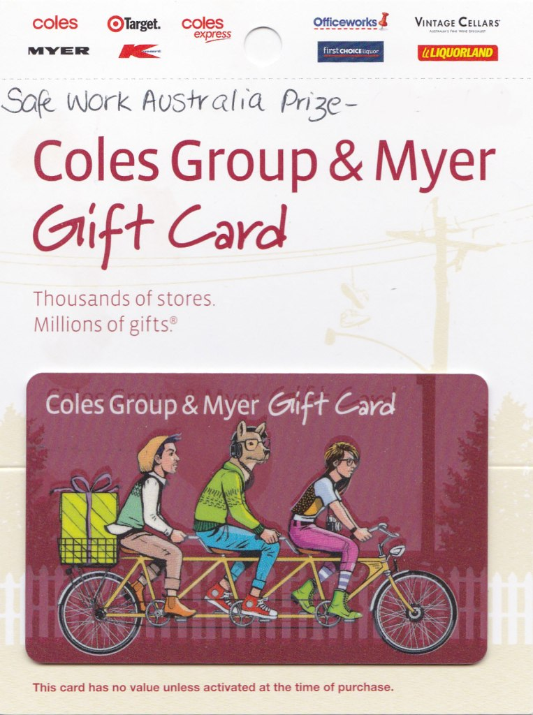 Myer Coles Gift Card
