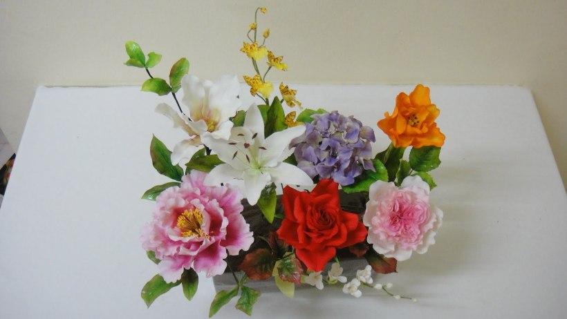 sugar art flowers