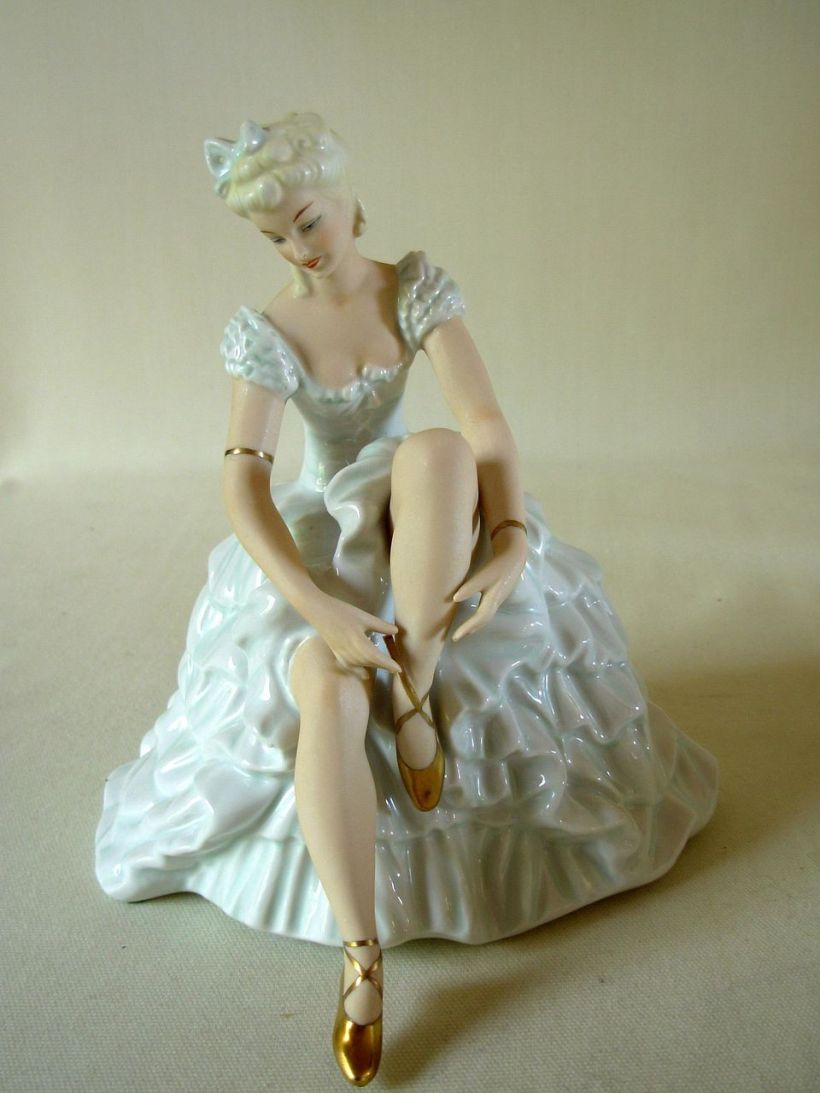 German Porcelain Ballerina1