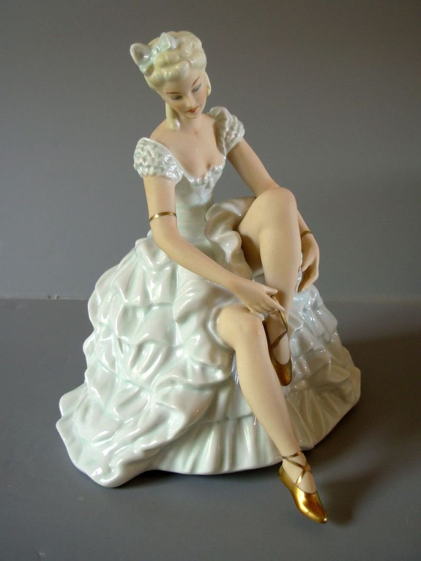 German Porcelain Ballerina2