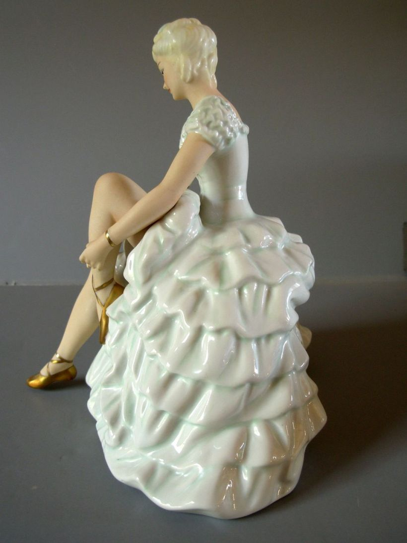 German Porcelain Ballerina34