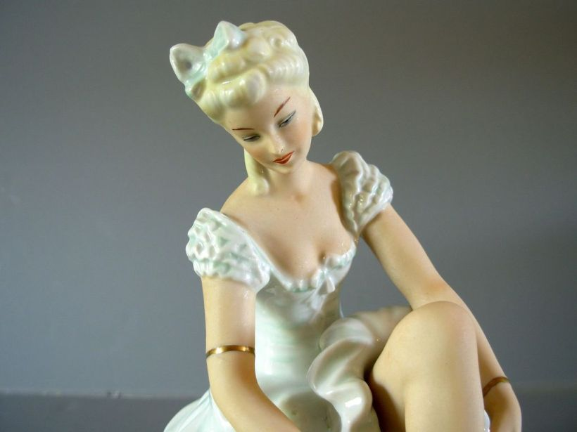 German Porcelain Ballerina6
