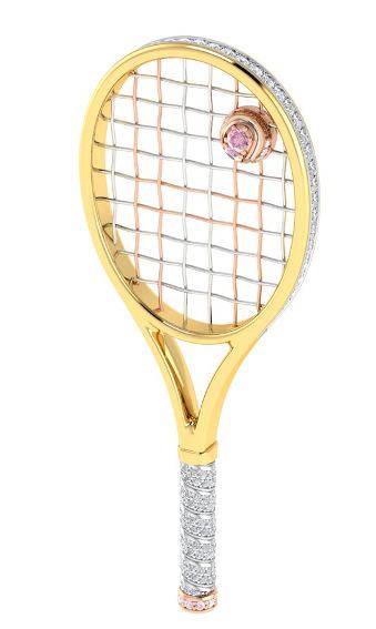 hopman cup tennis racquet trophy