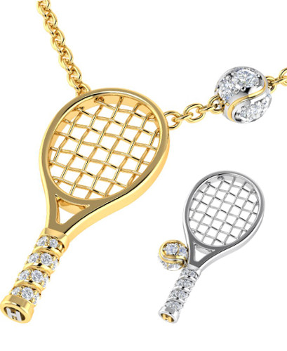 Hopman cup 2013 2014 solid gold tennis racquet trophy prize solid gold diamond jewellers are located in perth western australia and they posted on their facebook page on 30 december 2013 that stunning pendants for mozeypictures Gallery