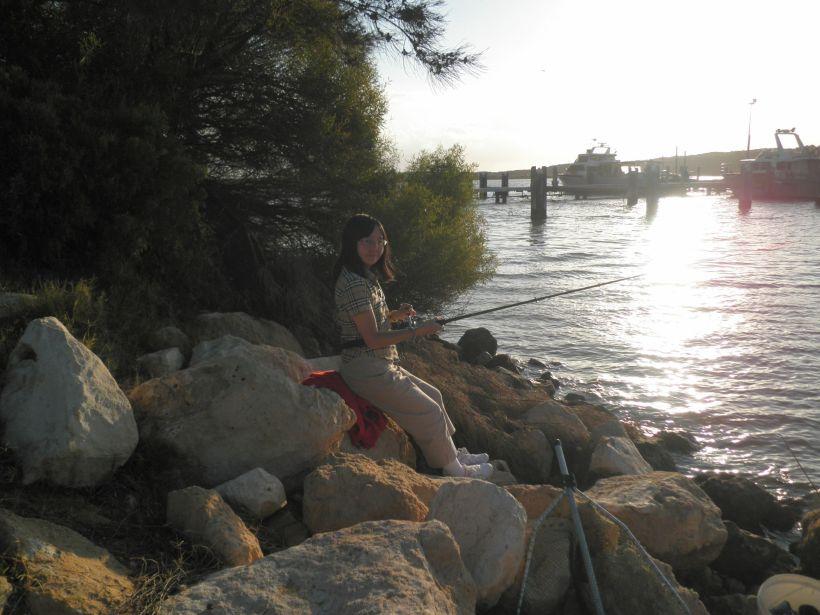 Fishing at Kalbarri