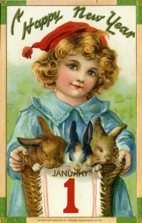 Happy New Year bunnies