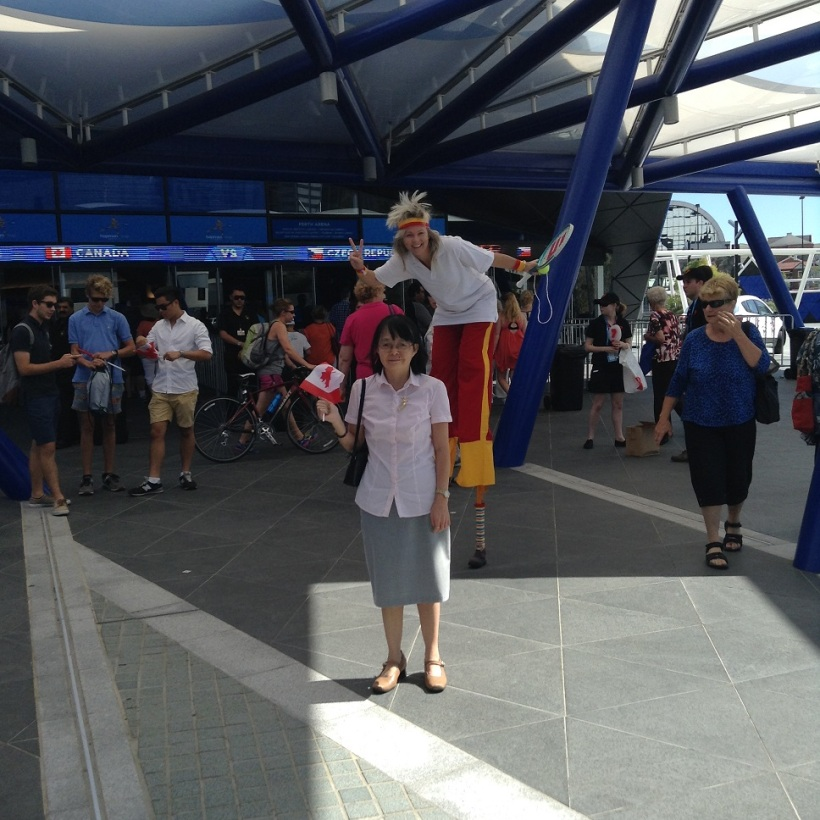 Perth Arena Hopman Cup Opening 4_January_2015