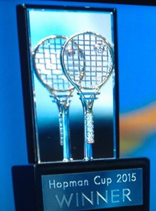 Tennis Racquet Trophy