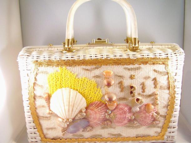 seashell wicker basket 2