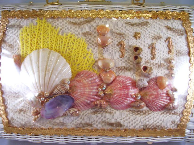 seashell wicker basket 3