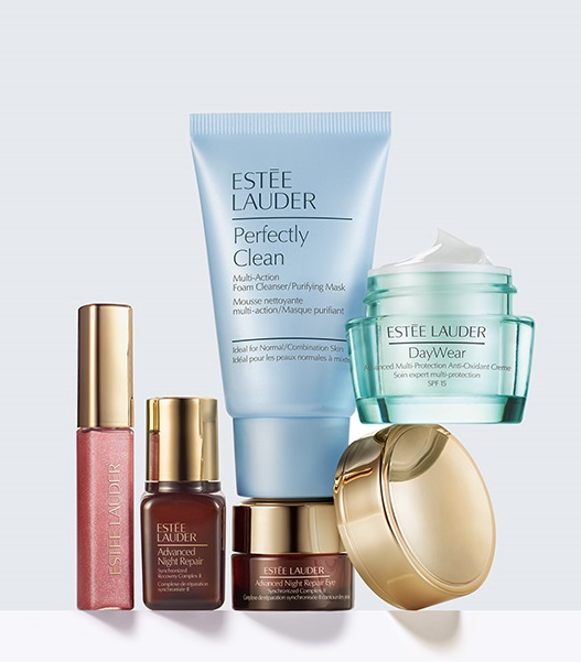 Estee Lauder_stay young_start now_set