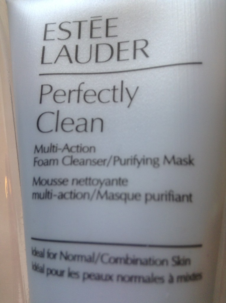 Estee Lauder Perfectly Clean foam cleanser and Mask