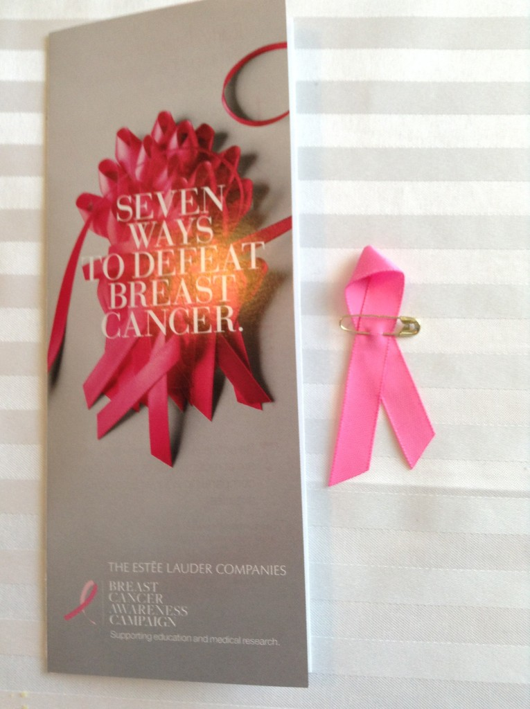 Estee Lauder supports medical research