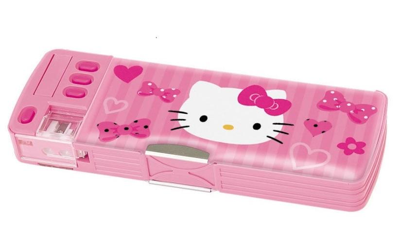 aa Hello Kitty Deluxe pencil case